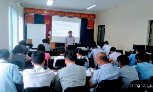 Hội tổ chức đào tạo về quản lý dự án, quản lý chi phí cho Tổng Công ty Hàng không Việt Nam