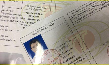 Danh sách các cá nhân được Hội Kinh tế xây dựng Việt Nam cấp chứng chỉ hành nghề đợt 3 và 4