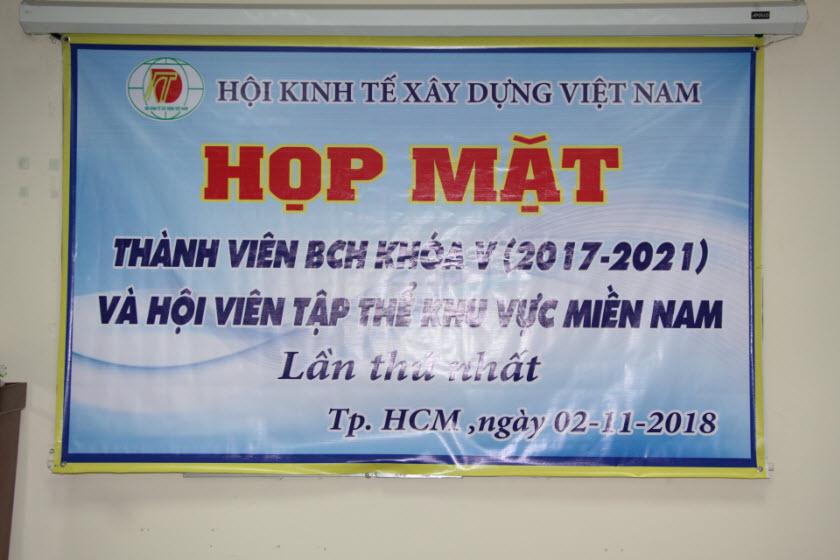 Họp mặt thành viên BCH Khóa V và hội viên tập thể khu vực Miền Nam lần thứ nhất