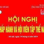Hội Nghị ban chấp hành và Hội nghị hội viên tập thể tại Hà Nội 04/2019