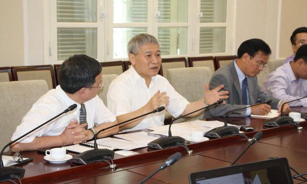 Hội Kinh tế xây dựng Việt Nam và Hội Kỹ sư định giá nhà nghề Hoa Kỳ làm việc tại Bộ Xây dựng