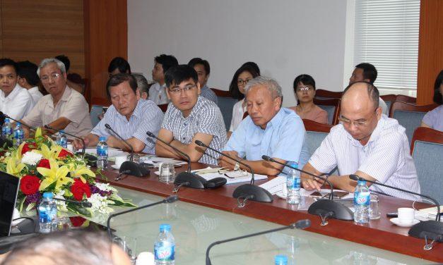 Hội Kỹ sư định giá nhà nghề Hoa Kỳ làm việc với Viện Kinh tế xây dựng và Hội Kinh tế xây dựng Việt Nam