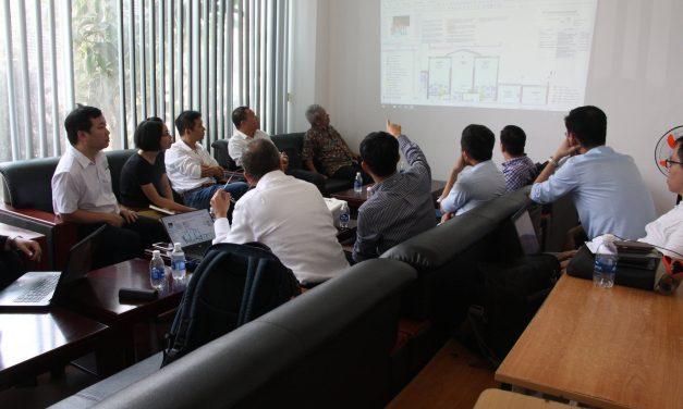 Làm việc với Ban Quản lý dự án, Nhà thầu, Tư vấn thiết kế dự án thí điểm Đề án BIM